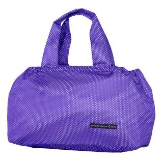 バスケットトート Mサイズ メッシュ (Purple/White)