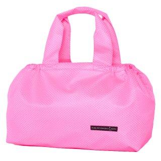 バスケットトート Mサイズ メッシュ (Pink/White)