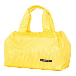バスケットトート Mサイズ メッシュ (Yellow/White)