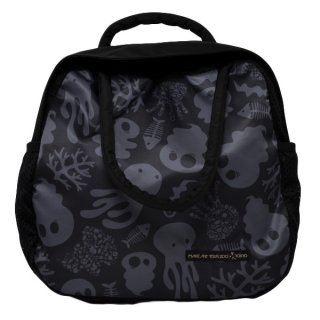 2Pack Tote Ghost Poo (Black/Gray)