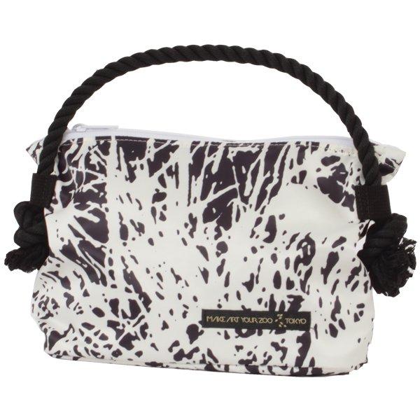 a928d0112d3d バニティーポーチ Grass (Black/White) - 軽いユニセックスのバッグ通販 ...