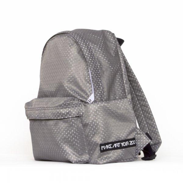 0b36ff47c447 ミニメッシュリュック (Charcoal/White) - 軽いユニセックスのバッグ通販 ...