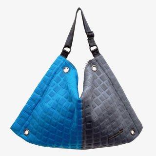 ファスバッグ Lサイズ 3D-GEO ■ (Blue/Charcoal)