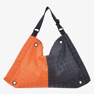 ファスバッグ Lサイズ 3D-GEO ■ (Orange/Charcoal)