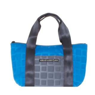 TOTE BAG  S 3D-GEO ■ (Blue/Charcoal)