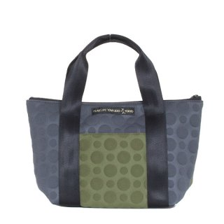 TOTE BAG  S 3D-GEO ● (Olive/Charcoal)