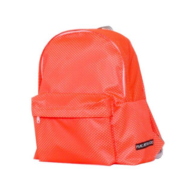 630d05d54499 メッシュリュック (Orange/White) - 軽いユニセックスのバッグ通販|MAKE ...