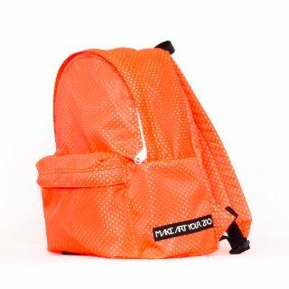 ミニメッシュリュック (Orange/White)