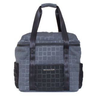 BOX BAG Lサイズ 3D-GEO (Charcoal/Black)