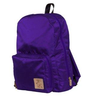 サイドオープンラウンドリュック(Purple)
