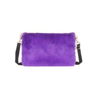 ウォレットバッグ ECO-FUR (Purple)
