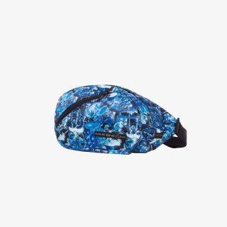 ウエストポーチ Mushroom camo (Blue/Multi)
