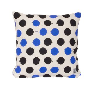 <strong>【SALE 30%OFF】</strong> クッションカバー Giant Polka  (Cream/Black/Blue)