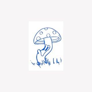 ポストカード Mush (Blue)