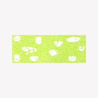 手ぬぐい Ceramix (Neon Green)