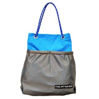 ホッピングコードショッパー Mサイズ (Blue/Grey)