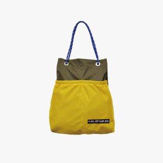 ホッピングコードショッパー Mサイズ (Olive/Yellow)
