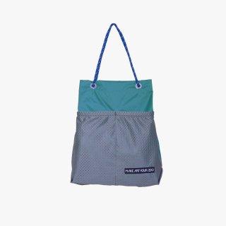ホッピングコードショッパー Mサイズ (Peacock Blue/Grey)