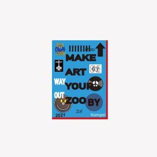 ステッカー MAKE ART YOUR ZOO by nampei