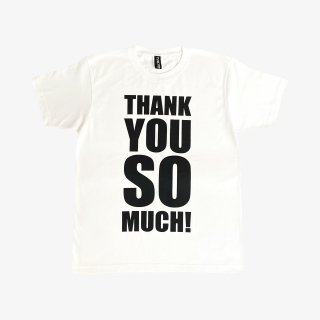 ART ZOO Tee 『THANK YOU SO MUCH』 White