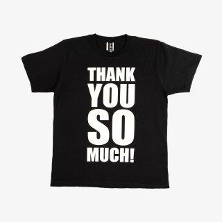 ART ZOO Tee 『THANK YOU SO MUCH』 Black