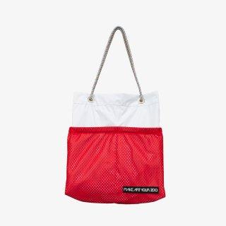 ホッピングコードショッパーワイド Mサイズ (Ice Gray/Red)
