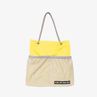 ホッピングコードショッパーワイド Mサイズ (Yellow/Gray)