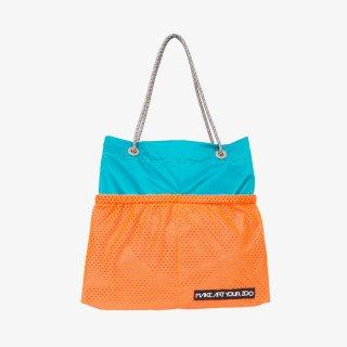 ホッピングコードショッパーワイド Mサイズ (Emerald Green/Orange)