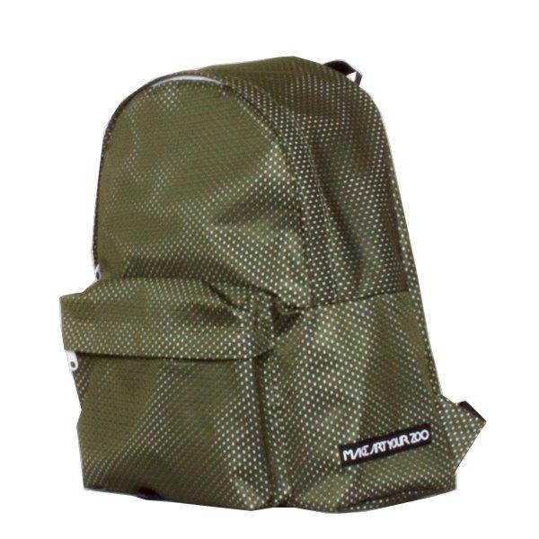 f479cd16fe08 メッシュリュック (Olive/White) - 軽いユニセックスのバッグ通販|MAKE ...