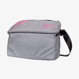メッセンジャーバッグ Lサイズ (Gray/Pink)