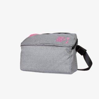 メッセンジャーバッグ Mサイズ (Gray/Pink)