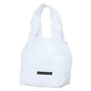 バスケットトート Sサイズ メッシュ (White/White)