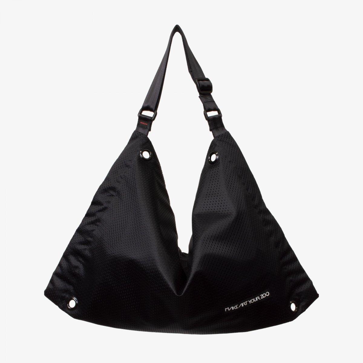 4ac7f30c1160 ファスバッグ Lサイズ メッシュ (All Black) - 軽いユニセックスのバッグ ...