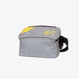 メッセンジャーバッグ Sサイズ (Gray/Yellow)