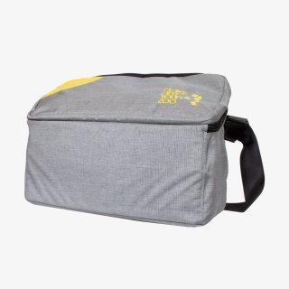 メッセンジャーバッグ Lサイズ (Gray/Yellow)