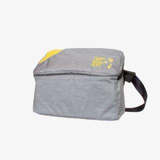 メッセンジャーバッグ Mサイズ (Gray/Yellow)