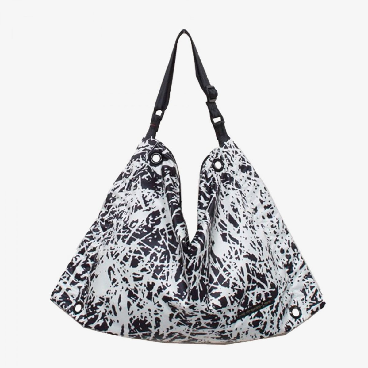 5a737acf46a5 ファスバッグ Lサイズ Grass(Black/White) - 軽いユニセックスのバッグ ...