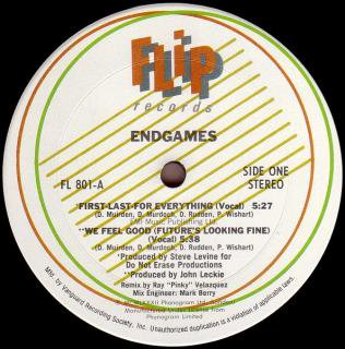 endgames first last for everything sunline records