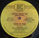 Brooklyn Express - Back In Time / You Need A Change Of Mind