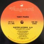 Tony Paris - Electric Automan