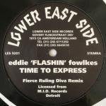 Eddie 'Flashin' Fowlkes - Time To Express