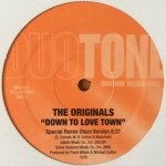 The Originals / Eddie Kendricks - Down To Love Town / Date With The Rain