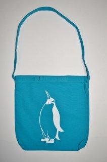 ペンギン ショルダーバッグ、ターコイズブルー