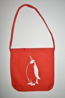 ペンギン ショルダーバッグ、赤
