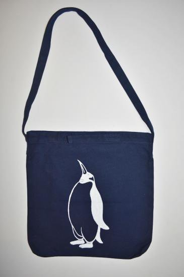 ペンギン ショルダーバッグ、ネイビー