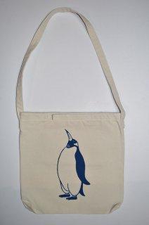 ペンギン ショルダーバッグ、ナチュラル