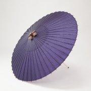 羽二重傘 105cm 無地 / 紫