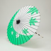 紙傘76cm 紅葉 / 緑
