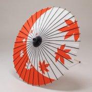 紙傘70cm  紅葉 / 赤