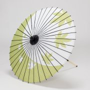 紙傘70cm  紅葉 / 草色